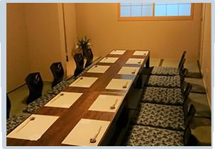 個室座席は4名様から12名様まで利用可能です